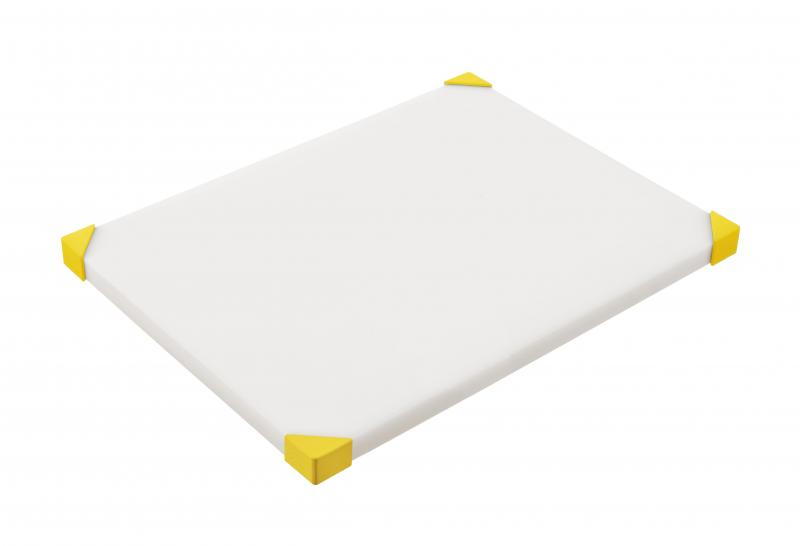 Cut board 404x304x24mm yellow