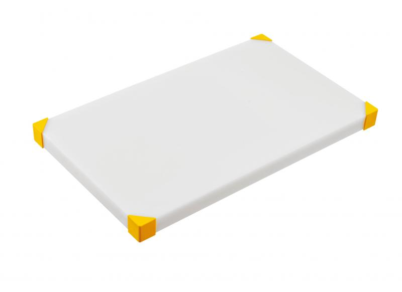Cut board 604x404x24mm yellow
