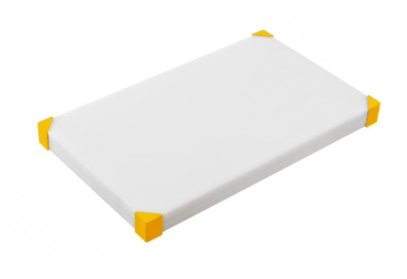 Cut board 604x404x34mm yellow