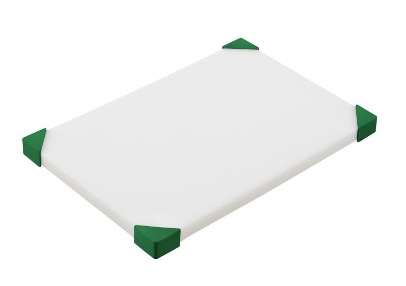 Cut board 304x204x15mm green