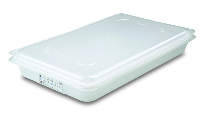 Food box w/lid gn1/1 65mm  9l transparent