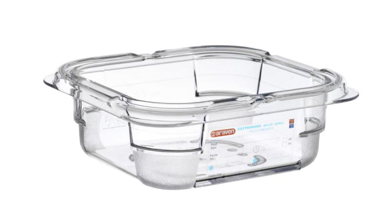 Food box pc gn1/6 65mm 1l transparent