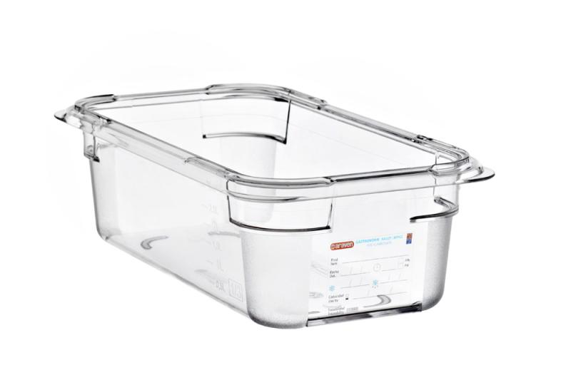 Food box pc gn1/3 100mm 3,7l transparent