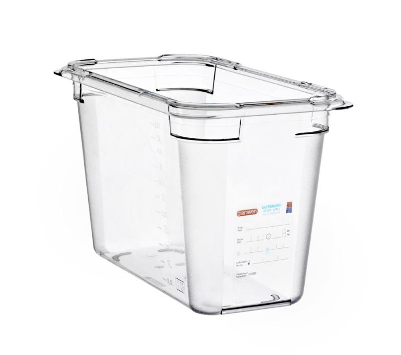 Food box pc gn1/3 200mm 6,7l transparent