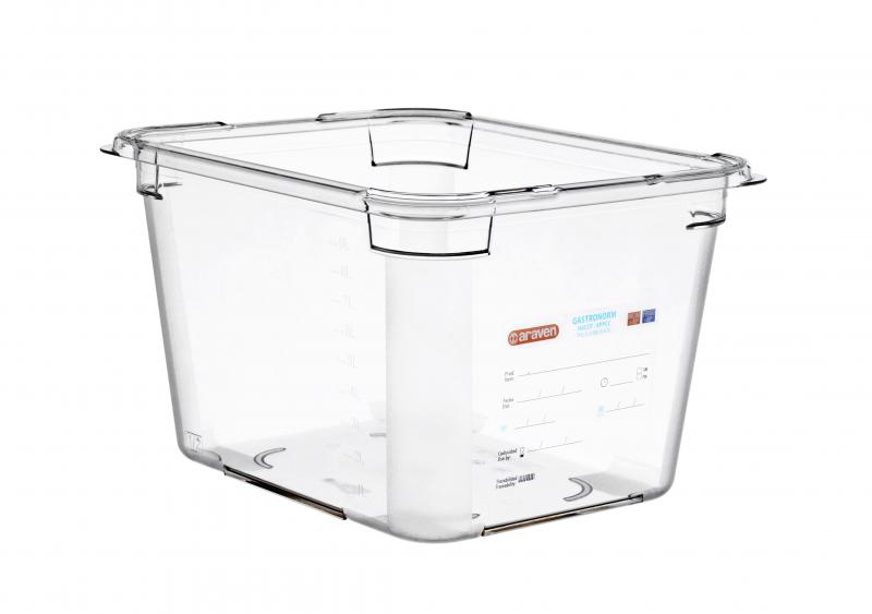 Food box pc gn1/2 200mm  11,3l  transparent
