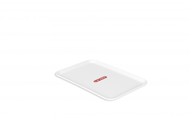 Flat tray nº2 white