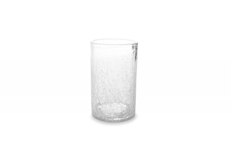 Longdrink glass 0.40l transparent Crackle