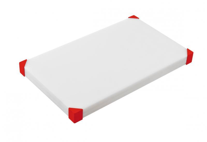 Cut Board 604X404X34Mm Red