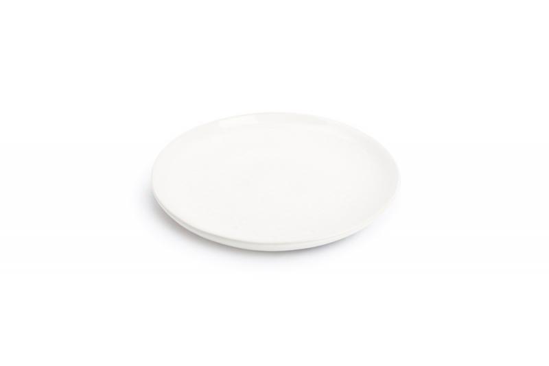 Plate 22cm porcelain white Claro 1