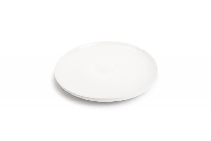 Plate 28cm porcelain white Claro 1