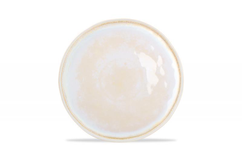 Plate 30,5xH2,5cm Gold Glister 6