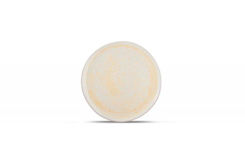 Plate 14xH1cm Gold Glister