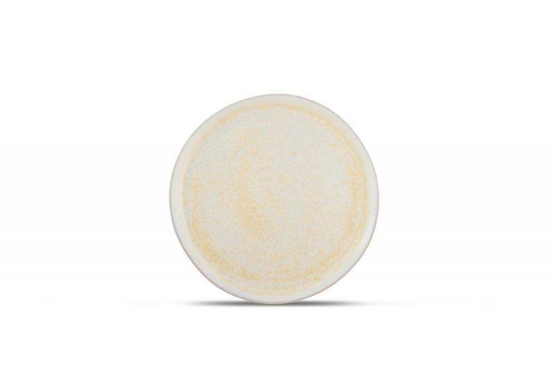 Plate 21xH1,5cm Gold Glister