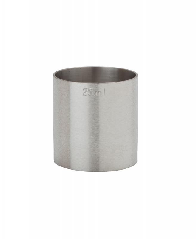 25ml St/Steel Thimble Measure CE