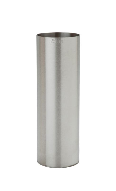 250ml St/Steel Thimble Measure CE