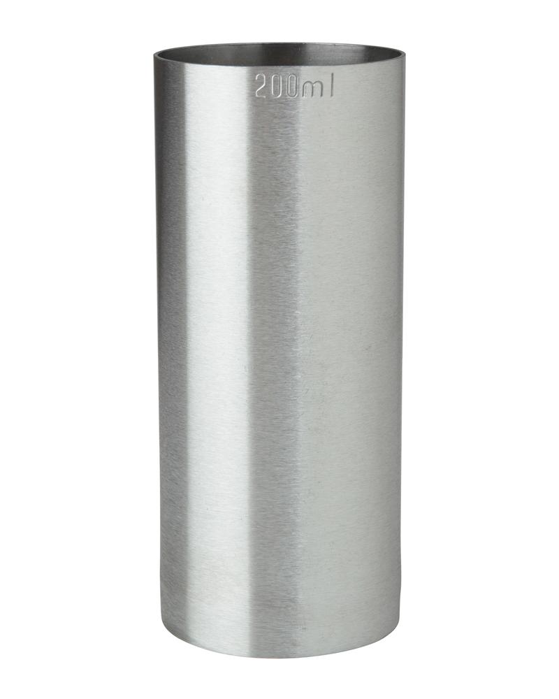 200ml St/Steel Thimble Measure CE
