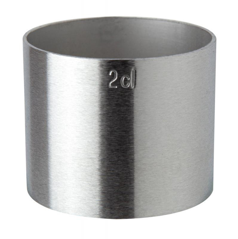 2cl Stainless Steel Thimble Measure