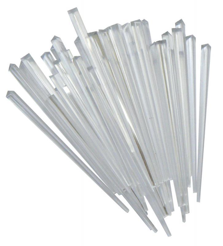 3 1/2 Inch CLEAR Prism Pick Pk 1000