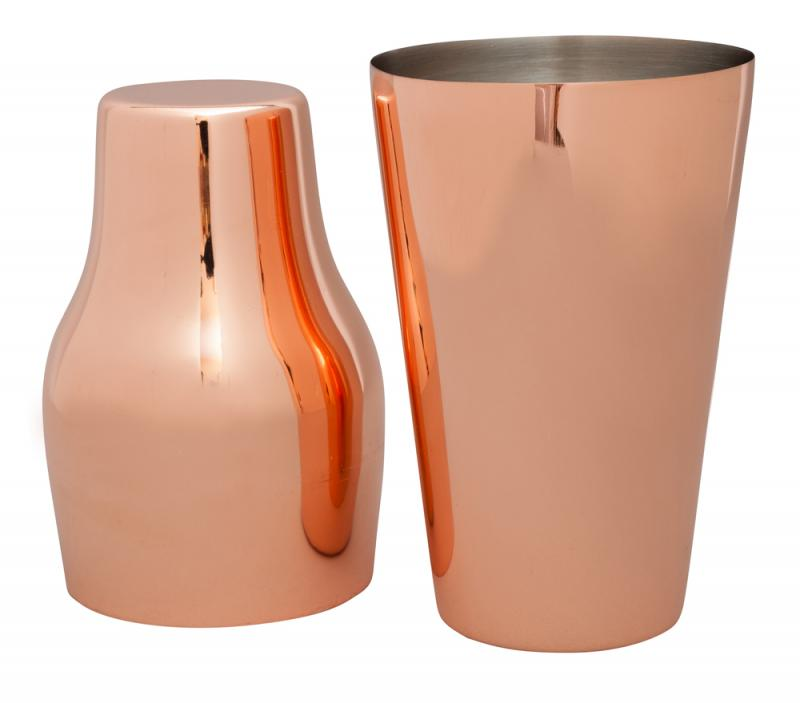 French Shaker COPPER PLATED