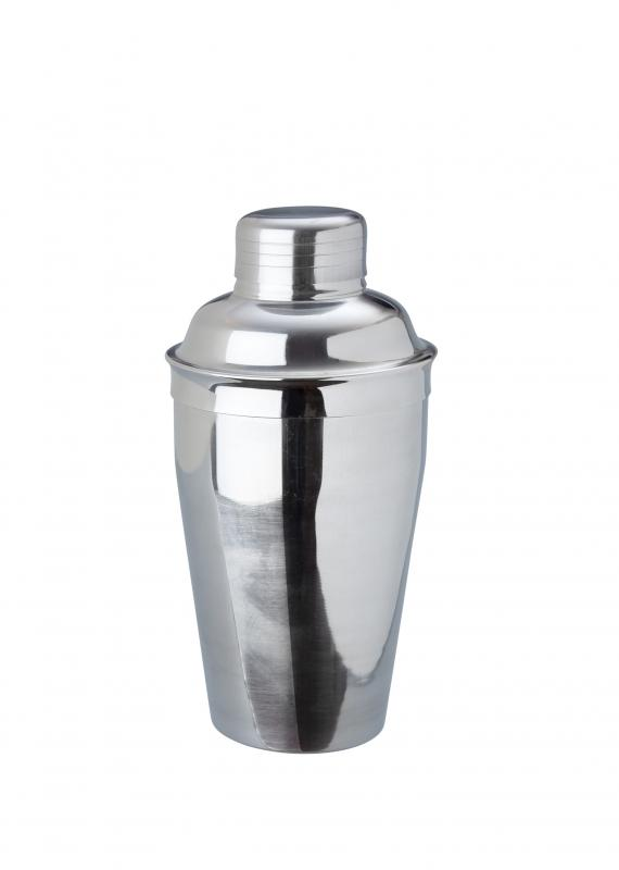 8oz Deluxe Cocktail Shaker Stainless Steel