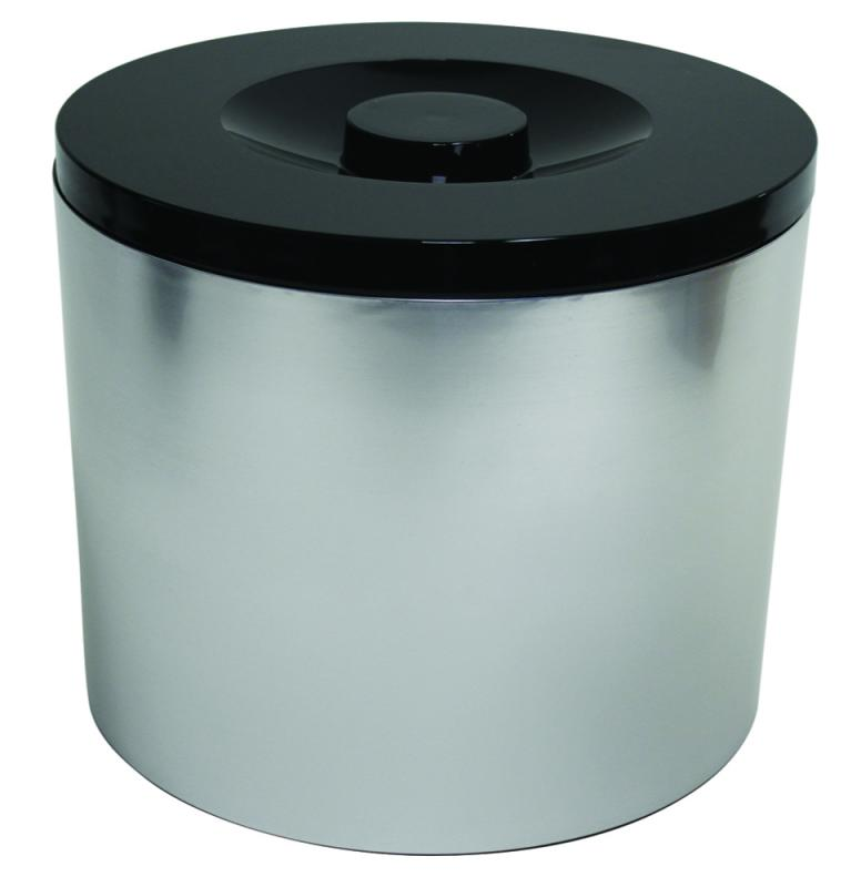 6 Litre Plastic Ice Bucket Foil Wrapped
