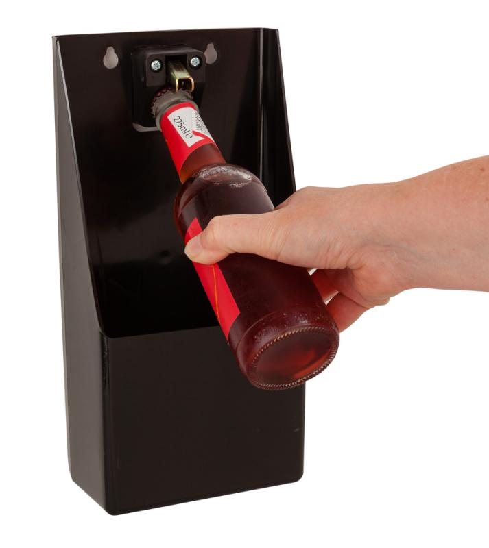 Bottle Opener/Catcher Stand Up