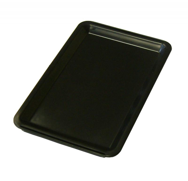 Black Plastic Tip Tray - Plain