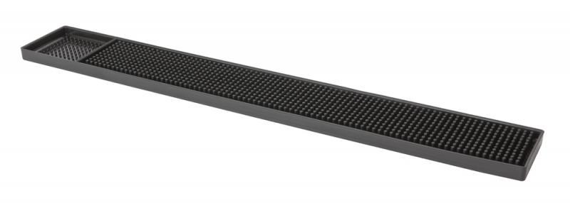 Bar Mat 610mm x 80mm Black