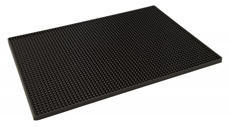 Black Bar Mat 300 x 450mm