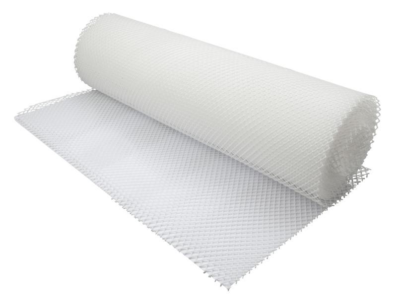 Shelf Liner WHITE 61cm x 10m