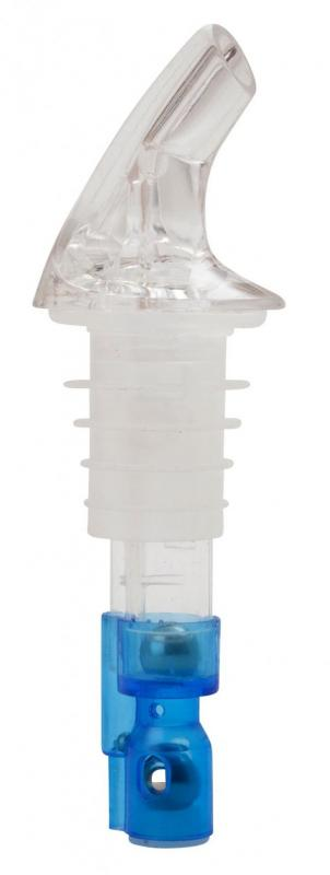 25NGS 2 Ball Collarless Pourer - Clear - Pk12