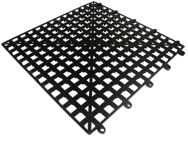 Bar Shelf Tile - BLACK 13 Inch x 13 Inch