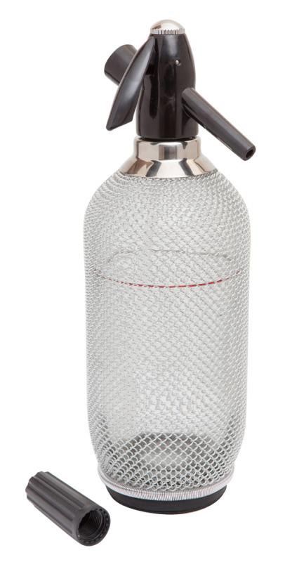Glass Soda Syphon With Mesh