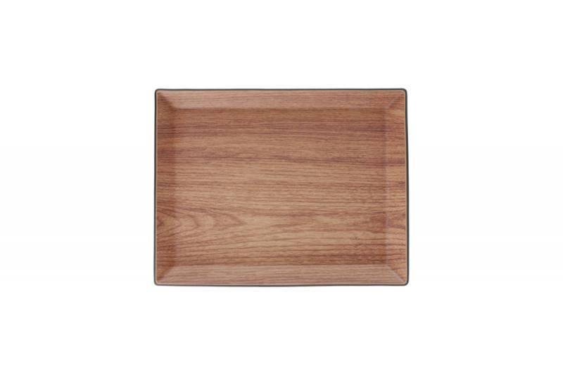 Serving tray 29,5x23xH2cm rectangular Buffet 1