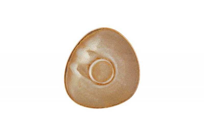 Mocha saucer 12.5x11.5cm for cup0.09l cream Escura