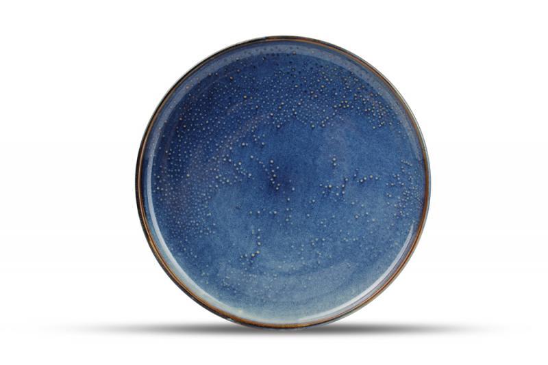Plate 31cm blue Nova