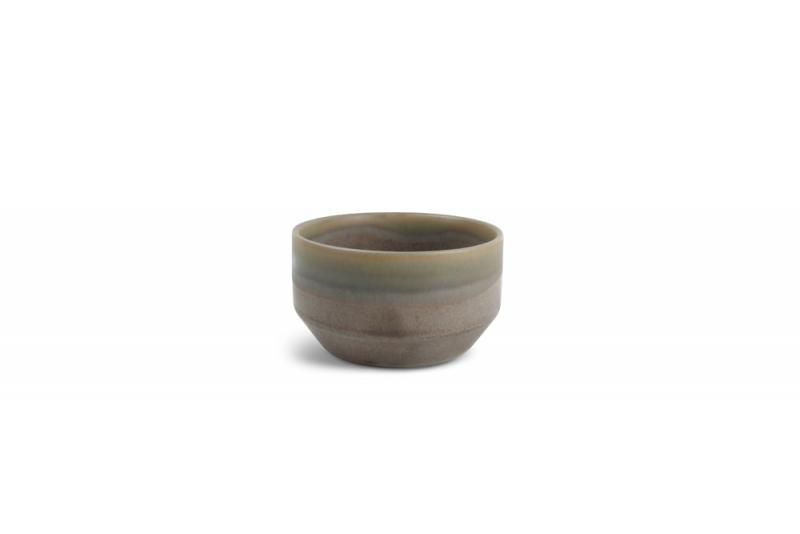 Bowl 10xH5,5cm Structo Brown 4