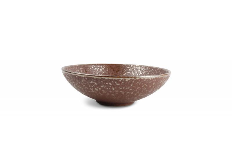Bowl 22,5xH7cm Oxido Rusty 4