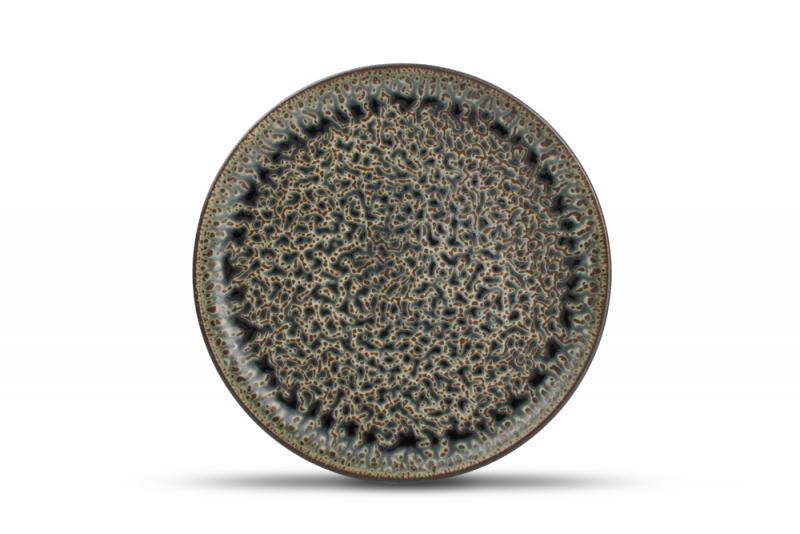 Plate 28,5cm emerald Oxido