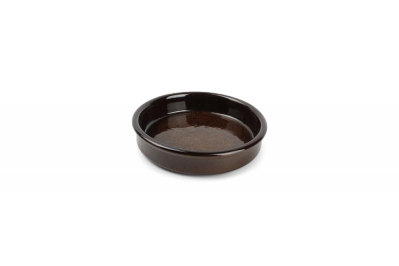 Baking dish 14xH3cm brown Forno
