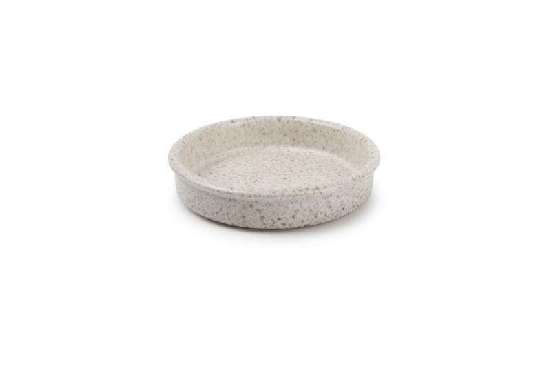 Baking dish 14xH3cm beige Forno