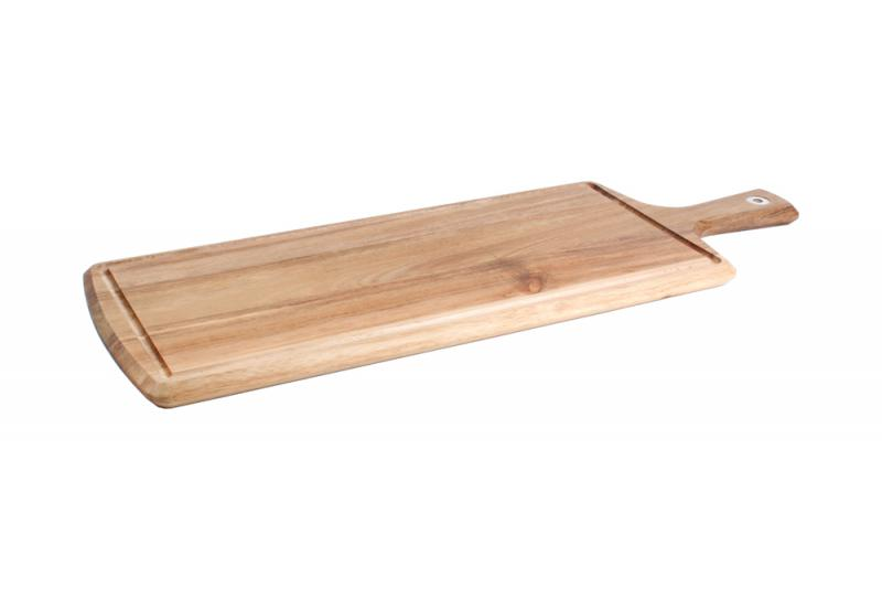 Serving board 58x20cm rect.+handle Essential 1