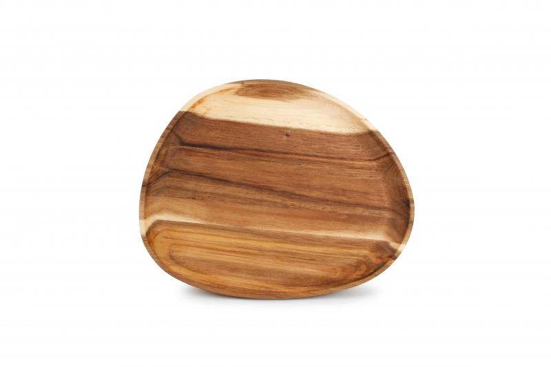 Serving board 26x20xH2cm oval acacia wood Santo 1