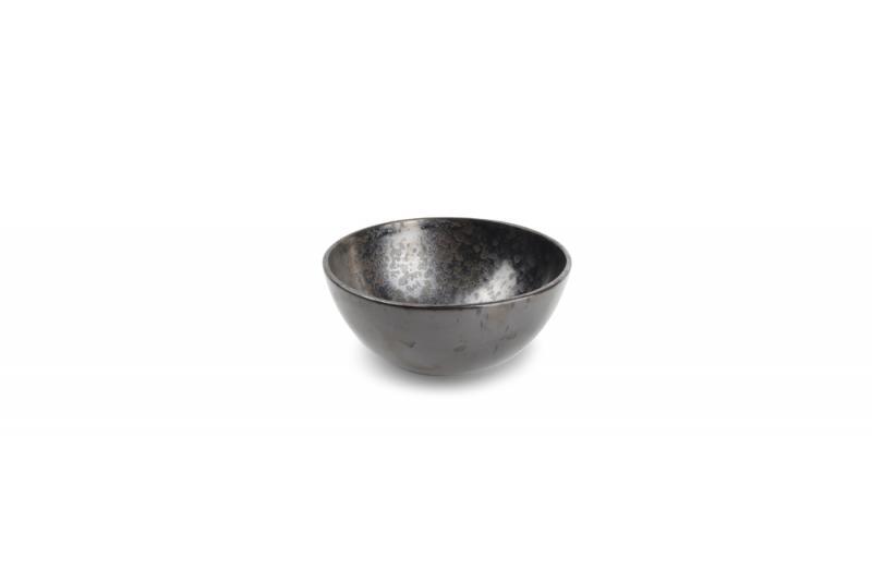 Bowl 13XH6,5cm charcoal Cala 4