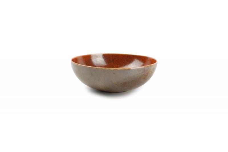 Bowl 16xH5,5cm orange Ash