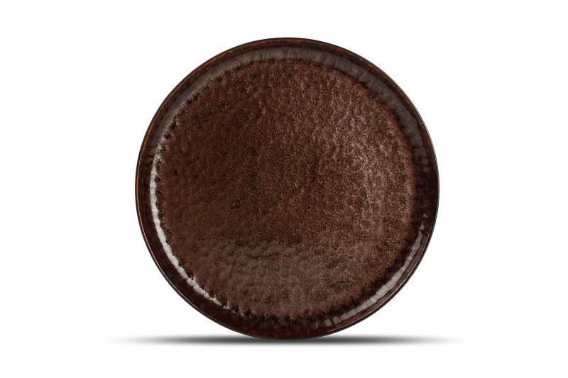 Plate 27cm brown Primal