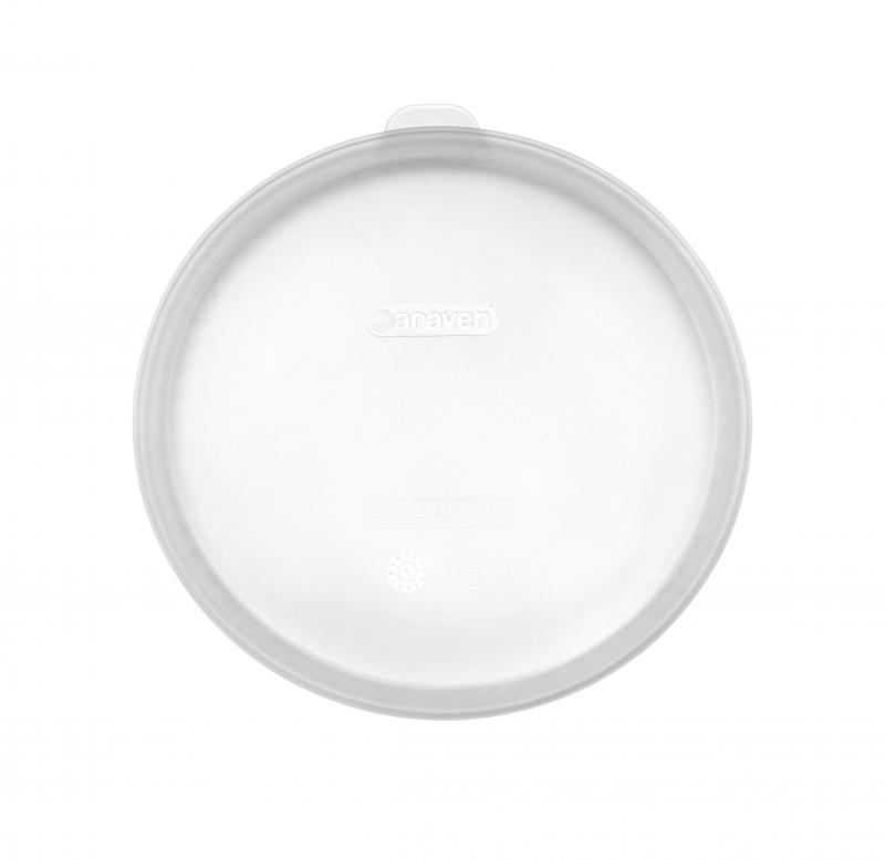 Round silicon lid ø235mm transparent