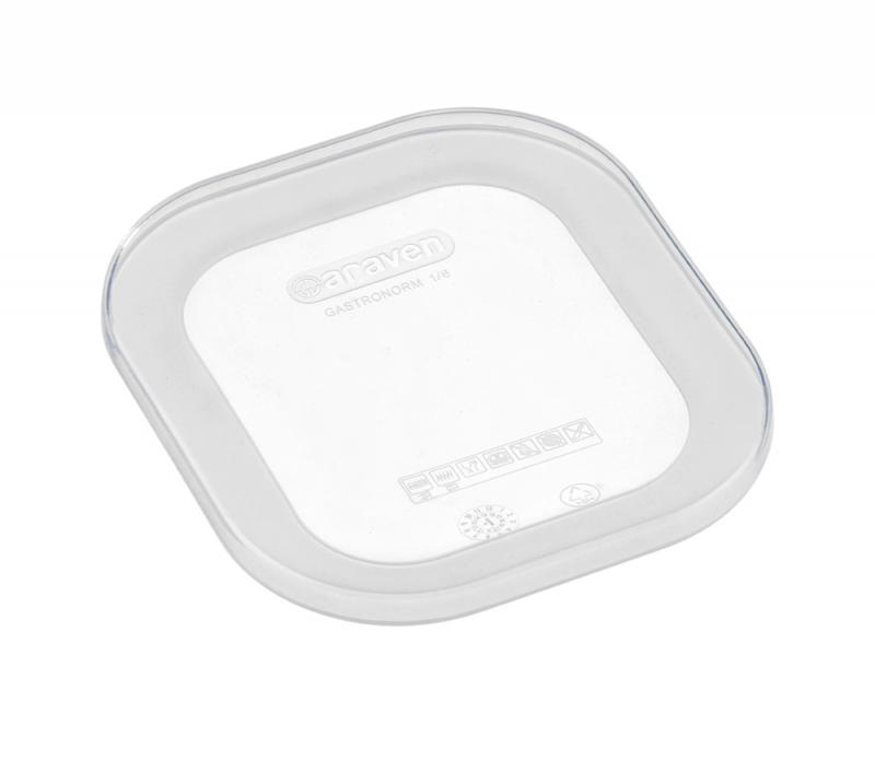 Silicone lid gn1/6 transparent