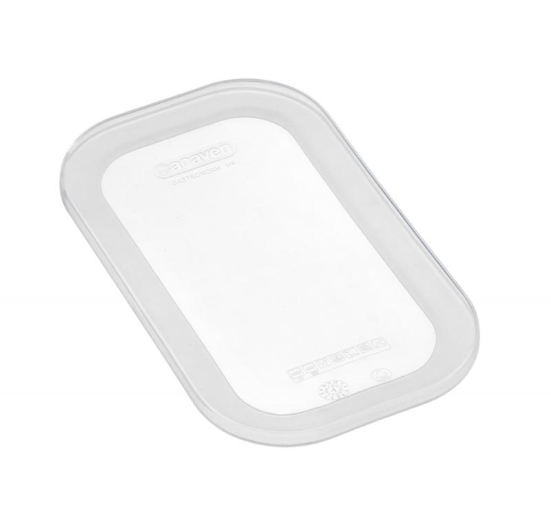 Silicone lid gn1/4 transparent