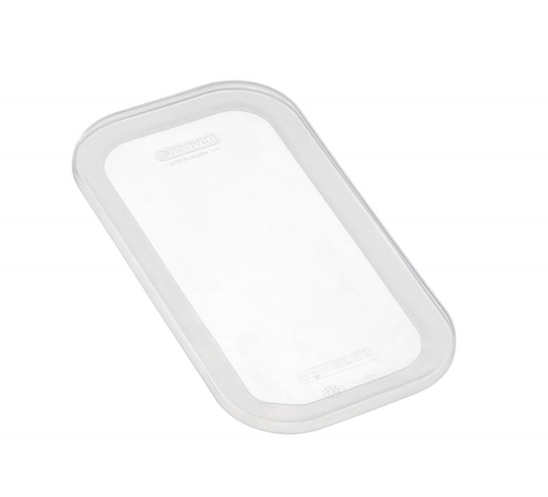 Silicone lid gn1/3 transparent